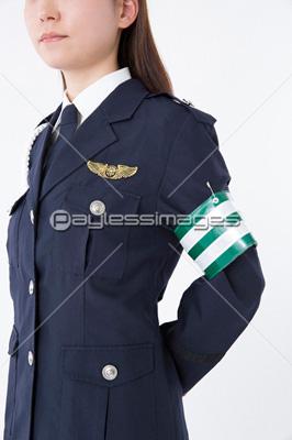 女性警察官 イメージID:af9920081214モデルリリース/プロパティリリー... ストッ