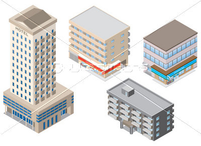 建物 / 立体図