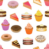 cakes+seamless+pattern