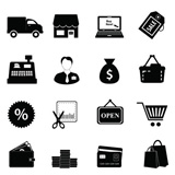 Shopping+icon+set