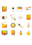 web+business+%26+office+icons%2C+signs%2C+vector+illustrations