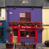 Ireland+-+Kinsale+-+Red+%26+Blue+Building+with+Flowers