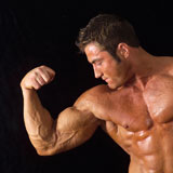 Male+bodybuilder+posing
