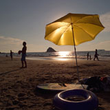 Yellow+Umbrella+on+the+beach
