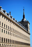 Facade+of+San+Lorenzo+del+Escorial+Abbey.+Spanish+landmark+