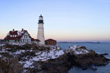 Lighthouse+On+A+Snowy+Coast