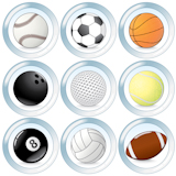 Colorful+Sport+balls+buttons+-+vector+icon+set+for+leisure+game+design