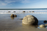 モエラキボルダーMoeraki Boulders South Island New Zealand
