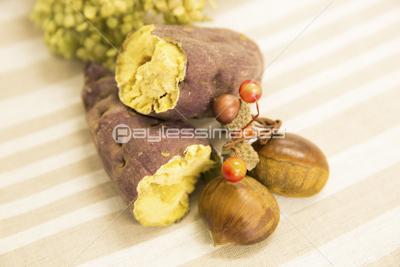 「焼き芋 栗」の画像検索結果