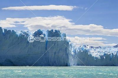 ice mountains of Argentina