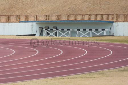 陸上競技場のコーナーの写真イラスト素材 Gf2440655208