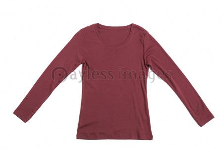 レディースの長袖tシャツの写真イラスト素材 Gf1770708797