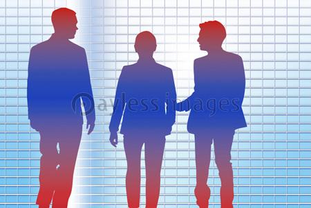 ビジネスマンシルエットの写真イラスト素材 Gf1420719351 ペイレス