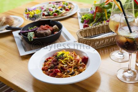 イタリアン料理の写真イラスト素材 Gf1420743252 ペイレスイメージズ