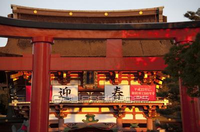 伏見稲荷大社の写真イラスト素材 Gf1120119898 ペイレスイメージズ