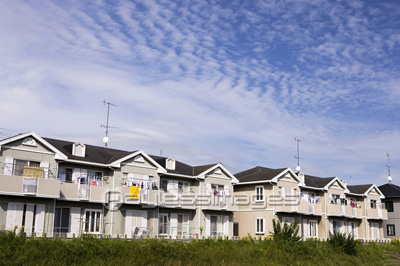 住宅街の写真イラスト素材 Gf1770134505 ペイレスイメージズ
