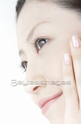 顔アップの写真イラスト素材 写真素材ストックフォトの定額制