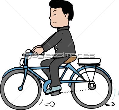 自転車通学の写真イラスト素材 Gf2200264495 ペイレス