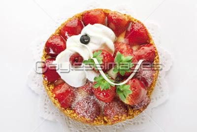 苺タルトケーキの写真イラスト素材 Gf1950323985 ペイレスイメージズ