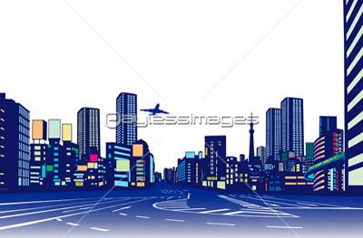 都会のビル群の写真イラスト素材 Gf1420430636 ペイレスイメージズ