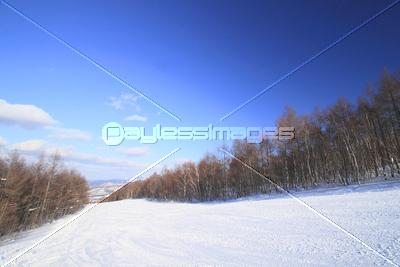 安比のゲレンデの写真イラスト素材 Xf2365037661 ペイレスイメージズ