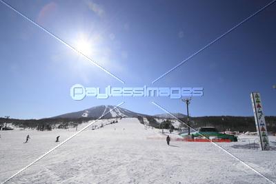 安比スキー場の写真イラスト素材 Xf2365037657 ペイレスイメージズ