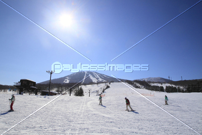 安比スキー場の写真イラスト素材 Xf2365037675 ペイレスイメージズ
