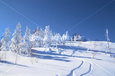 安比高原のゲレンデの写真イラスト素材 Xf2365037911 ペイレス