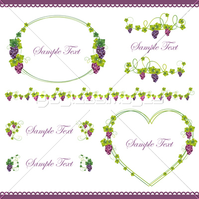 grape frame set