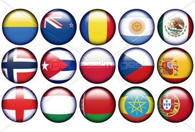国旗のアイコン素材 無料ストックフォト無料写真素材