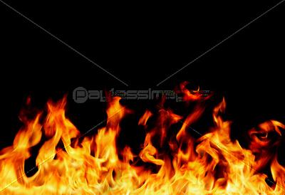 炎のフレームの写真・イラスト素...