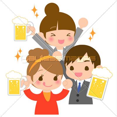 飲み会の写真イラスト素材 Xf4565125689 ペイレスイメージズ