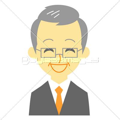 スーツの男性 笑顔の写真イラスト素材 Xf4115140213 ペイレス