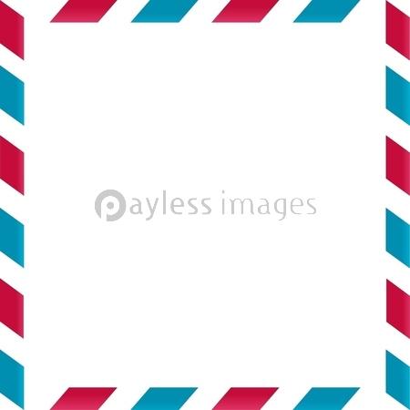 エアメールのフレームの写真イラスト素材 Xf3495167495 ペイレス