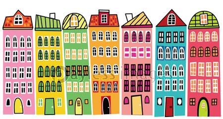 100枚以上のおすすめ画像 ヨーロッパ 町並み イラスト トップの壁紙