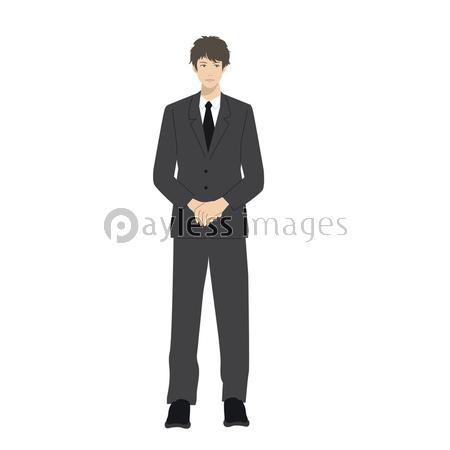 スーツ 男性 イラストの写真イラスト素材 Xf3795185434 ペイレス