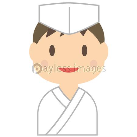 板前さん 日本食の料理人 男性 笑顔の写真イラスト素材 Xf5775218670