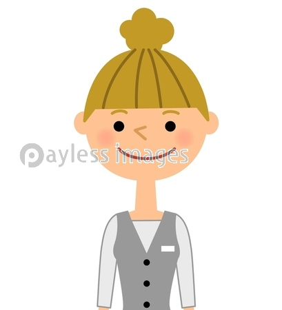 働く女性の写真イラスト素材 Xf6685304169 ペイレスイメージズ