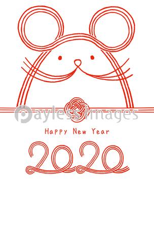 2020 年賀状 手書き