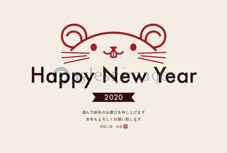 2020 年 年賀状 デザイン