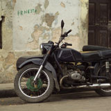 Motorcycle+with+a+sidecar+parked+on+the+street%2C+Havana%2C+Cuba