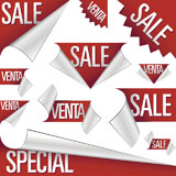 Sale+and+venta+stickers%2C+corner+tabs%2C+ribbons%2C+and+labels+for+use+in+advertising%2C+print+promotions%2C+product+packaging%2C+and+websites