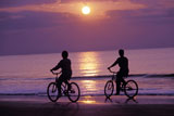 Riding+Bikes+on+the+Beach