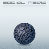 Social+Media+Concept+with+Web+Icons+Globe.+EPS10+Vector+Background+for+Your+Text+and+Design