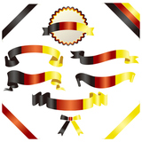 set of german ribbon