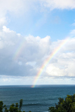 Rainbow,Puu Poa Point,Kenomene,Kauai,Hawaii,虹のプウポアポイント